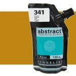 Sennelier Abstract Acrylic Yellow Ochre 252B, 120 ml.