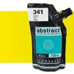 Sennelier Abstract Acrylic Fluorescent Yellow 502, 120 ml.