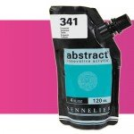 Sennelier Abstract Acrylic Fluorescent Pink 654, 120 ml.
