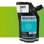 Sennelier Abstract Acrylic Fluorescent Green 895, 120 ml.
