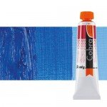 Water mixable oil colour Cobra Study colour ultramarine cobalt blue (200 ml)