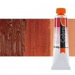 Water mixable oil colour Cobra Study colour burnt siena (200 ml)