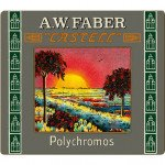 Colour Pencils metal box POLYCHROMO, Faber Castell (24 colours) LIMITED EDITION ANNIVERSARY