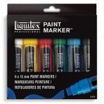 Liquitex Paint Marker, set 6 uds 18 mm.