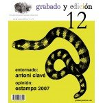 Etching and Editing Magazine, n. 12, in Spanish.