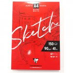 Sketch Pad A4, 90 gr. 150 h. Clairefontaine