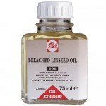 Bleached Linen oil Talens, 75 ml.