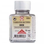 Rectified turpentine Talens, 75 ml