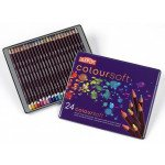 Colour pencils Metal box Coloursoft Derwent 24 uds.