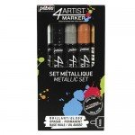 Pebeo 4Artist Oil Marker Metal Set 5 units, 4mm