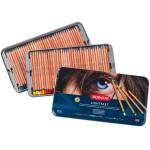 Colour pencils metal box Lightfast Derwent 72 uds.