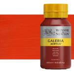 Acrílico Winsor & Newton Galería color tono naranja de cadmio (500 ml)