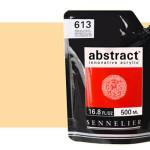 Sennelier Abstract Acrylic Flesh Ochre 250, 500 ml.