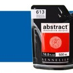 Sennelier Abstract Acrylic Cobalt Blue Hue 303, 500 ml.