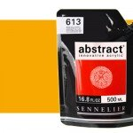 Sennelier Abstract Acrylic Dark Cadmium Yellow Hue 543 , 500 ml.