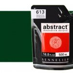 Sennelier Abstract Acrylic hooker Green 809, 500 ml.
