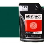 Sennelier Abstract Acrylic Phthalo Green 896, 500 ml.