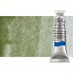 Acuarela Artist Winsor & Newton color tierra verde sombra amarilla 638 (5 ml) S1