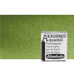 Watercolour Schmincke Akademie, Olive Green 554, 1/2 Godet.