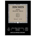 Arches Drawing 200 gr, 23x31  cm, Cream, block 16 s.
