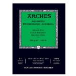Arches Watercolour 300 gr, 21x29,7 cm, Grain Fin, block 12 s.