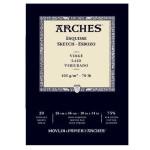 Sketch Arches 105 gr, 26x36 cm, Laid, block 20 s.