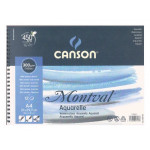 Canson Montval Watercolour 300 gr, 37x46, Cold Pressed, 12s Pad