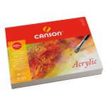 Acryllic Canson 400 gr, 32x41 cm., Cold Pressed, block 50 s.