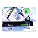 Artist Watercolour 250 gr, 9x13 cm, Cold Pressed, Block 20 h.
