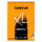 Bristol Illustration Canson XL Pad, 50 sheets, 180 gsm, A3 (rings)