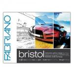 Block Illustration and Design Bristol, Fabriano (20 sheets, 250gr 29.7x42cm)