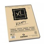 Sketch Canson XL Kraft (Block), 60h., 90 gr., A3