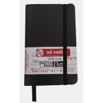 ArtCreation NoteBook Dots, 9x14, elastic band, 80 s, 80 gr.