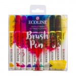 Estuche Acuarela ROTULADOR Ecoline Brush Pen 10 ud SET LETTERING