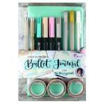 Journal Set Pastel Turquoise, Bullet Journal