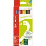 STABILO GreenColors box 12 colored pencils