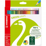 STABILO GreenColors box 24 colored pencils