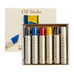 Set 6 Artist' Quality Oil Sticks Sennelier