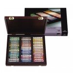 Wooden box pastels Rembrandt Tradition 45 uds. Landscape