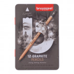 Box of 12 Graphite pencils Bruynzeel