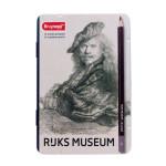 Special Edition Box 12 graphite pencils Bruynzeel-Rembrandt Self-Portrait