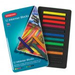 Inktense Blocks Metal box Derwent 12 uds.