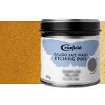 Tinta Grabado Ecológica Ocre Amarillo, Lata 250 gr.
