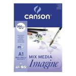 Imagine Canson Block, 59.4x84.1 cm, 200 gr, 25 s.