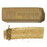 Charcoal stick bar XL Ocher 01 Derwent