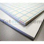 Adhesive White Foam Board, 10 mm., 153x305  cm., box 10 units
