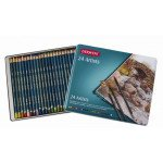Colour pencils Metal box Artists Derwent 24 uds.