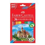 Estuche cartón 36 lapices color Faber Castell