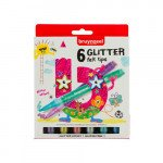 Marker Case Bruynzeel, 6 glitter felt tips