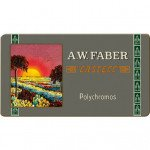 Colour Pencils metal box POLYCHROMO, Faber Castell (12 colours) LIMITED EDITION ANNIVERSAY